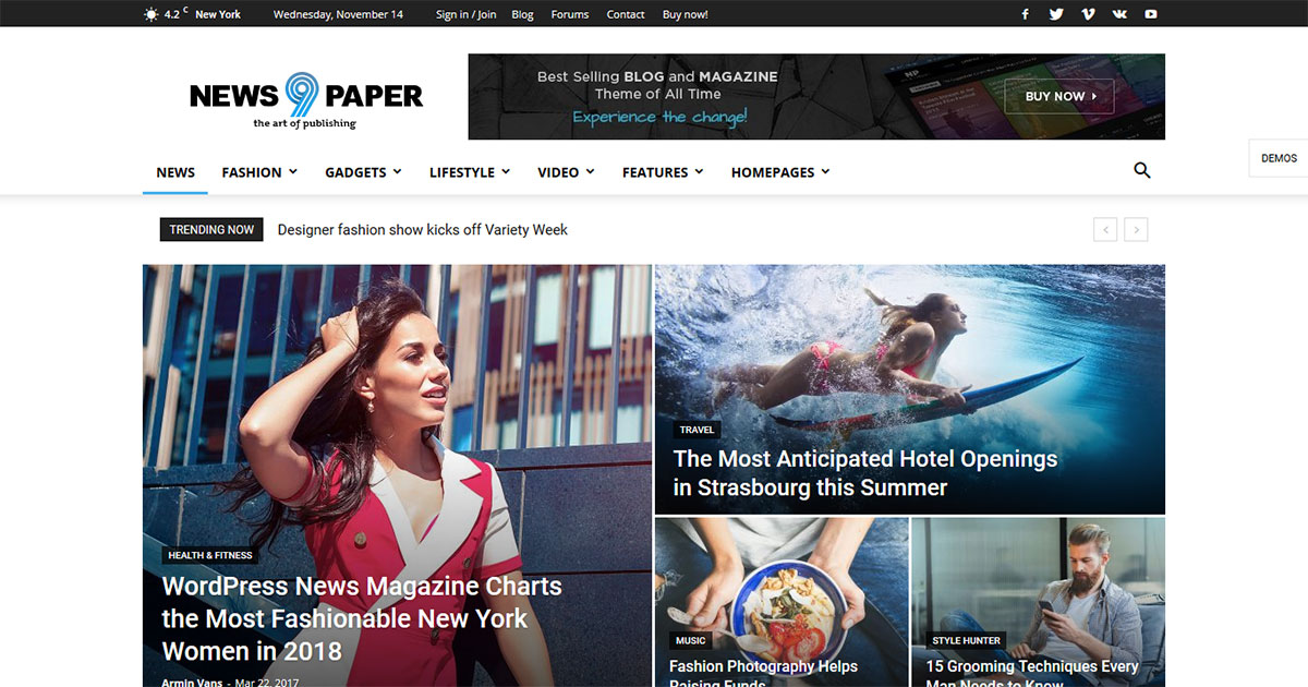 Read more about the article Newspaper Theme Review-Discover with WooCommerce Features | MsterBlog
